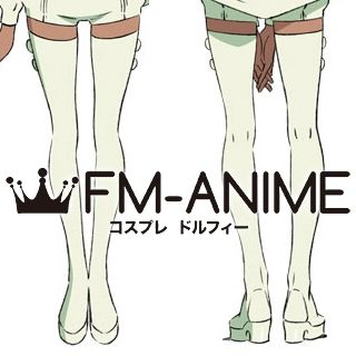 Gundam Reconguista in G Raraiya Akuparl White Cosplay Shoes Boots
