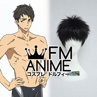Free! - Iwatobi Swim Club Sousuke Yamazaki Cosplay Wig