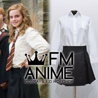 Harry Potter Hogwarts School Female Uniform Cosplay Costume