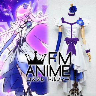 HeartCatch Pretty Cure! Yuri Tsukikage (Cure Moonlight) Cosplay Costume