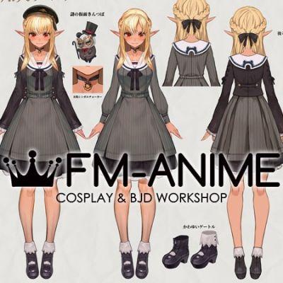 Virtual YouTuber Vtuber Hololive Fantasy Shiranui Flare Third Cosplay Costume