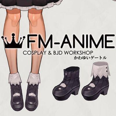 Virtual YouTuber Vtuber Hololive Fantasy Shiranui Flare Third Cosplay Shoes