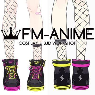 Virtual YouTuber Vtuber Hololive holoForce Tokoyami Towa Cosplay Shoes