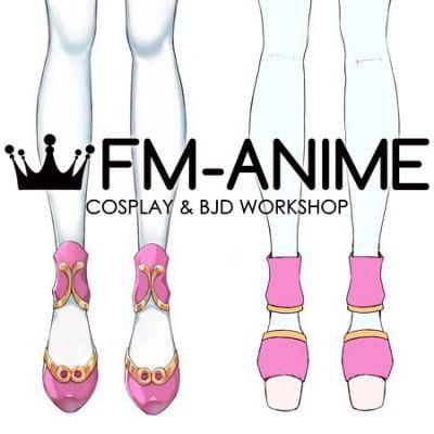 Virtual YouTuber Vtuber Hololive holoFive NePoLaBo Momosuzu Nene Cosplay Shoes Boots