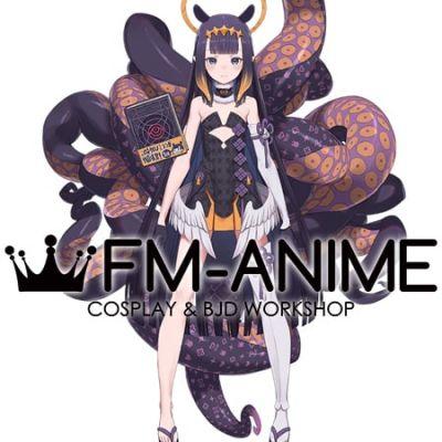 Hololive Ninomae Ina'nis Virtual YouTuber Vtuber Cosplay Costume