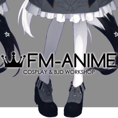 Virtual YouTuber Vtuber Hololive Shirakami Fubuki Fifth Cosplay Shoes