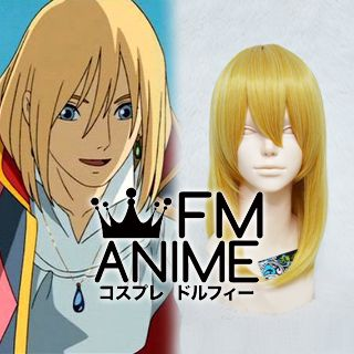 Howl's Moving Castle Howl Cosplay Wig