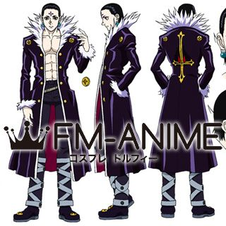 Hunter × Hunter Chrollo Lucilfer Cosplay Costume