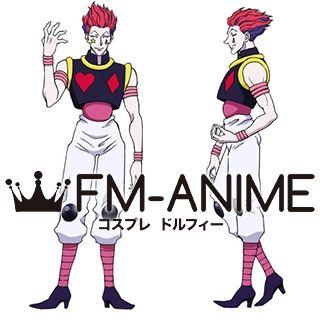 Hunter × Hunter Hisoka Cosplay Costume