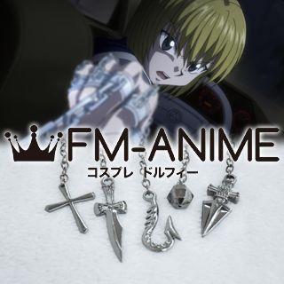 Hunter × Hunter Kurapika Metal Ring Weapon Cosplay