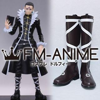 Hunter × Hunter Chrollo Lucilfer Cosplay Shoes Boots