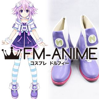 Hyperdimension Neptunia Neptune Cosplay Shoes Boots