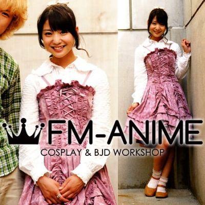 Kaizoku Sentai Gokaiger Ahim de Famille Pink Dress Cosplay Costume