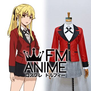 Kakegurui: Compulsive Gambler Mary Saotome & Yumeko Jabami Uniform Cosplay Costume
