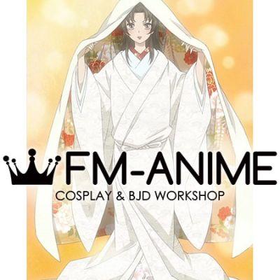 Kamisama Kiss Nanami Momozono Wedding Kimono Cosplay Costume