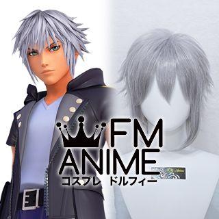 Kingdom Hearts III 3 Riku Cosplay Wig