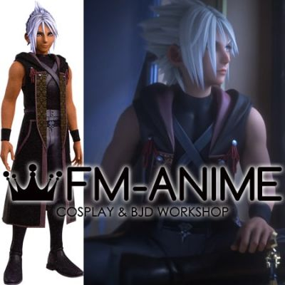 Kingdom Hearts III Kingdom Hearts 3 Young Xehanort Apprentice Cosplay Costume