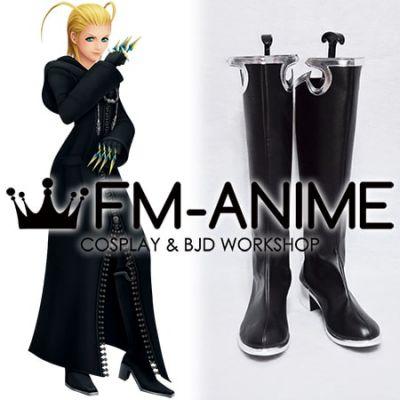 Kingdom Hearts Larxene Cosplay Shoes Boots