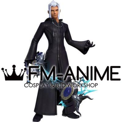 Kingdom Hearts Young Xehanort The real Organization XIII Cosplay Costume