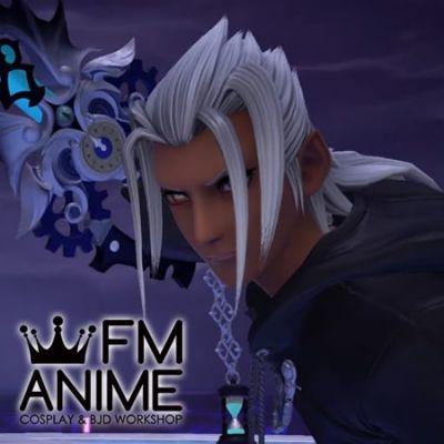Kingdom Hearts Young Xehanort The real Organization XIII Cosplay Wig