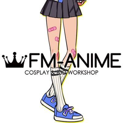 Kunio-kun Kyoko RCG Cosplay Shoes