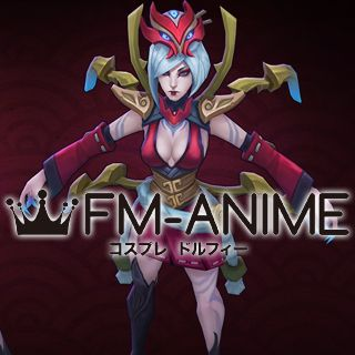 League of Legends Blood Moon Elise Cosplay Costume