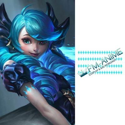 League of Legends Gwen Cosplay Temporary Tattoo Stickers