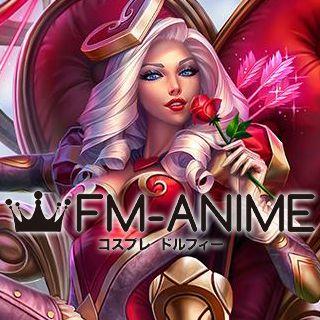 League of Legends Heartseeker Ashe Skin Cosplay Wig