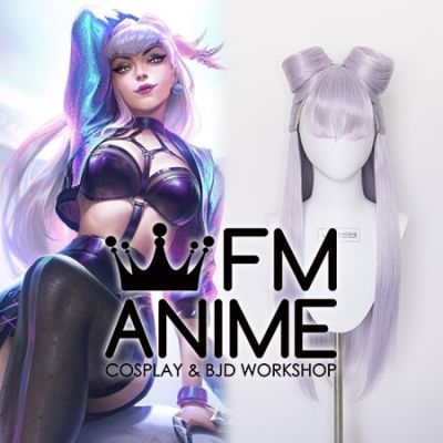 League of Legends K/DA ALL OUT Evelynn Cosplay Wig