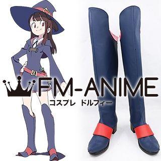 Little Witch Academia Atsuko Kagari Akko Cosplay Shoes Boots