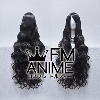 Long Length Wavy Black Cosplay Wig #S0810