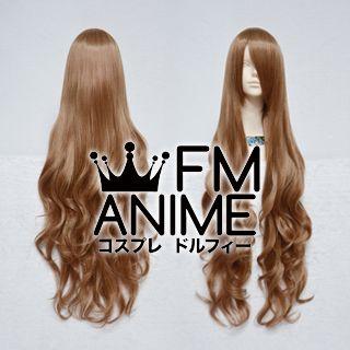 Long Length Wavy Mixed Brown Cosplay Wig