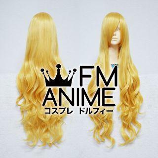 Long Length Wavy Mixed Gold Cosplay Wig