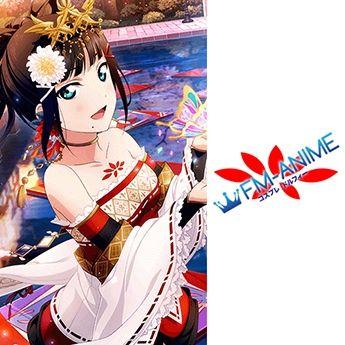Love Live! Sunshine!! Dia Kurosawa Job Ver. Miko Cosplay Tattoo Stickers