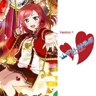 Love Live! Valentine Cards Cosplay Tattoo Stickers (Version 1)