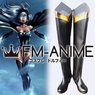 Marvel Comics X-Men Storm Cosplay Shoes Boots