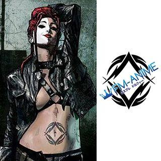Marvel Typhoid Mary Cosplay Tattoo Stickers
