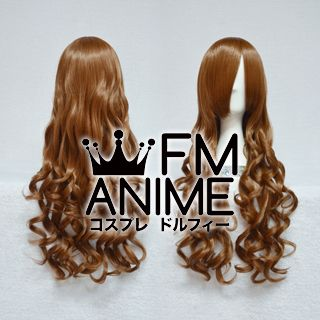Medium Length Wavy Brown Cosplay Wig