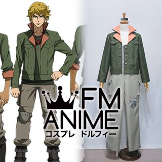 Mobile Suit Gundam: Iron-Blooded Orphans Tekkadan Military Uniform Cosplay Costume