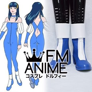 Mobile Suit Gundam SEED Aisha Cosplay Shoes Boots