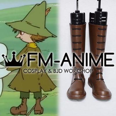 Moomin Snufkin Cosplay Shoes Boots