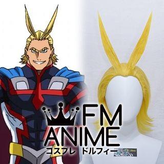 My Hero Academia All Might Toshinori Yagi Hero Muscle Form Cosplay Wig