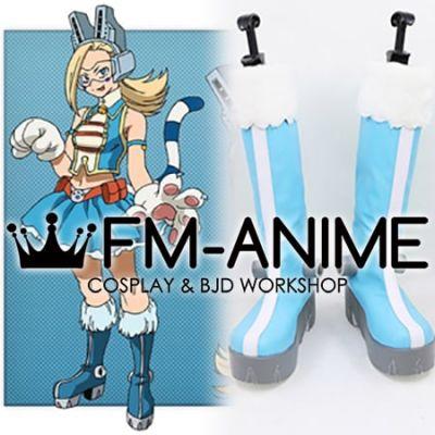 My Hero Academia Ryuko Tsuchikawa Pixie-Bob Wild Pussycats Hero Costumes Cosplay Shoes Boots