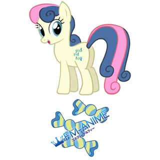 My Little Pony Bon Bon Cutie Mark Cosplay Tattoo Stickers