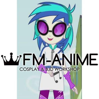 My Little Pony: Equestria Girls DJ Pon-3 Cosplay Wig