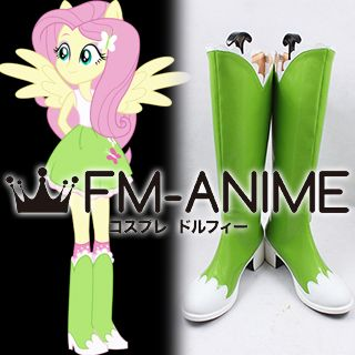 My Little Pony: Equestria Girls Fluttershy Cosplay Shoes Boots