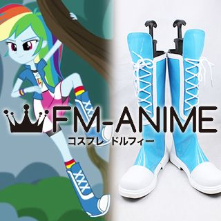 My Little Pony: Equestria Girls Rainbow Dash Cosplay Shoes Boots