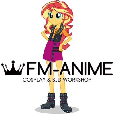 My Little Pony: Equestria Girls Sunset Shimmer Cosplay Costume