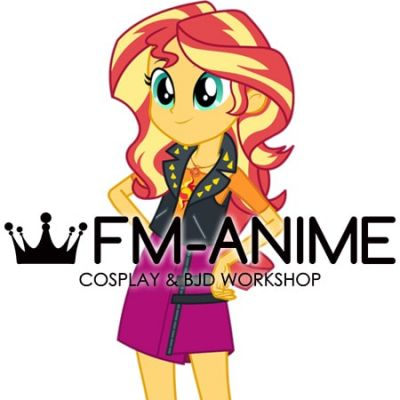 My Little Pony: Equestria Girls Sunset Shimmer Cosplay Wig