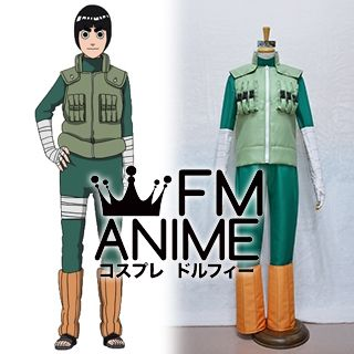 Naruto Shippuden Rock Lee Cosplay Costume